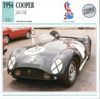 Grande Bretagne 1954 - Cooper Jaguar - Auto's