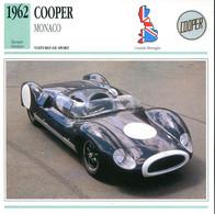 Grande Bretagne 1962 - Cooper Monaco - Auto's