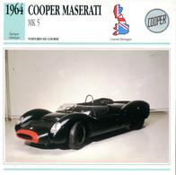 Grande Bretagne 1964 - Cooper Maserati MK5 - Auto's