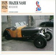 Grande Bretagne 1925-1932 - Frazer Nash Boulogne - Auto's