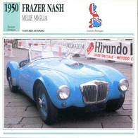 Grande Bretagne 1950 - Frazer Nash Mille Miglia - Auto's
