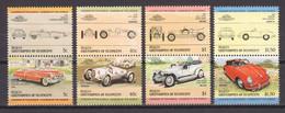 St Vincent Grenadines (Bequia) 1984 Mi 42-49 MNH CARS AUTO (*) - Automobili