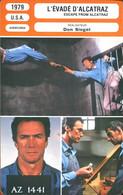 L'évadé D'Alcatraz De Don Siegel (Clint Eastwood, Patrick McGoohan...) - Andere