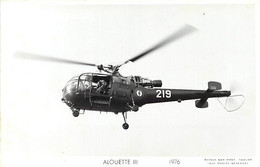 Themes Div Ref GG927- Aviation - Helicopteres - Helicoptere Alouette 3- - Helicópteros