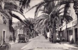 Alassio - Via Cavour Verso La Stazione - Savona