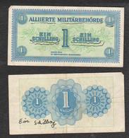 Austria 1 EIN SCHILLING 1944 Occupazione  Österreich Allied Military Authority Alliierte Militärbehörde Pic 102 - Austria