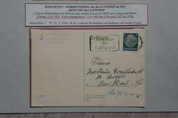 AD17 ALLEMAGNE BELLE LETTRE 1925 + REIMSTEID  +AEROPHILATELIE + AFFRANCH. INTERESSANT - Briefe U. Dokumente
