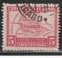 EQUATEUR 257 // YVERT 8 (BIENFAISANCE) // 1938 - Ecuador