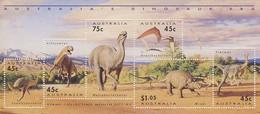 MTDR-BK2-091-2 MINT ¤ AUSTRALIA 1993 6w In Serie ¤ DINOSAURS - PREHISTORICS - PRÉHISTORIQUES - DINO'S - PREHISTORIE - Preistorici