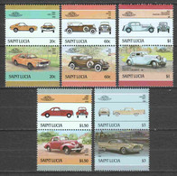 St Lucia 1985 Mi MNH CLASSIC CARS (*) - Automobili