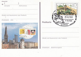 PSo 22 10. Internationale Briefmarken-Ausstellung Der Jugend 1990 Düsseldorf 1 - Postkarten - Gebraucht