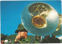 AA2823 Esercito Italiano - Ottoni Della Banda Degli Alpini / Non Viaggiata - Altri