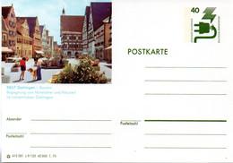 """(BP3)BRD Bildpostk.Wz40(Pf) Olivgrün """"Unfallverhütung"""" P116 415581/ C9/125 """"8867 Oettingen"""" Ungebraucht - Bildpostkarten - Ungebraucht"""