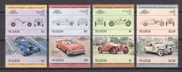 St Lucia 1984 Mi 652-659 MNH CARS (*) - Automobili
