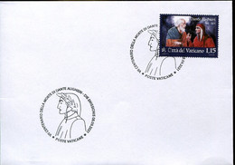 67071 Vaticano, Fdc 2021  For The VII Centenary Of Death Dante Alighieri,  With Special Postmark - FDC