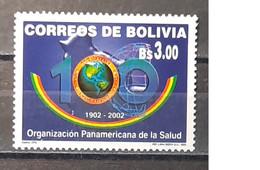 2002 - Bolivia - MNH As Scan - 100th Anniversary Of Pan-American Health Organization - PAHO-OPS - 1 Stamp - Barbados (1966-...)