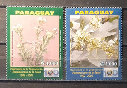 2002 - Paraguay - MNH As Scan - 100th Anniversary Of Pan-American Health Organization - PAHO-OPS - 1 Stamp - Paraguay