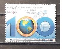2002 - Peru - MNH As Scan - 100th Anniversary Of Pan-American Health Organization - PAHO-OPS - 1 Stamp - Pérou