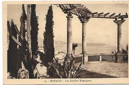 L100J251 - Monaco - 22 Les Jardins Exotiques - Exotic Garden