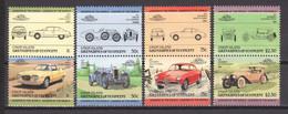St Vincent Grenadines (Union Island) 1985 Mi 70-77 MNH CARS AUTO - Automobili