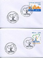 67077 Vaticano, Special Postmark First Day 2021  Budapest  International Eucharistic Congress - Storia Postale