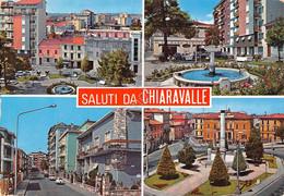 Cartolina Chiaravalle Vedute Varie Paese 1989 (Ancona) - Ancona
