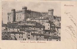 *** LAZIO ***  BRACCIANO   Veduta Del Castillo - Timbrée TTB - Altre Città