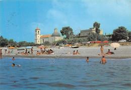 Cartolina Melito Porto Salvo Veduta Dal Mare Spiaggia Animata 1988 (Reggio Calabria) - Reggio Calabria