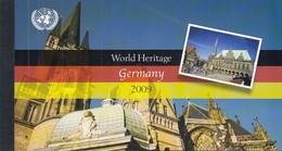 UNO NEW YORK MH 0-14, Postfrisch **, Welterbe: Deutschland, 2009 - Markenheftchen