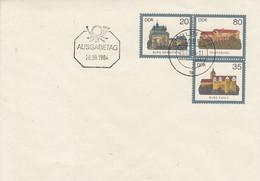 D U1  Blanko Umschlag Mit 20Pf Neben 8o Pf Darunter 35 Pf - Burgen (gezähnt), Berlin ZPF - Postkarten - Gebraucht