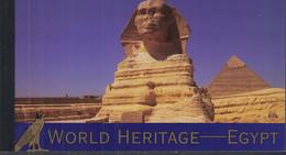 UNO NEW YORK MH 0-10, Postfrisch **, Welterbe: Ägypten, 2005 - Markenheftchen