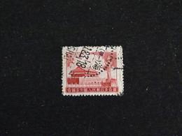 CHINE CHINA 1076 OBLITERE - PORTE DE LA PAIX CELESTE (ABIME) - Gebraucht