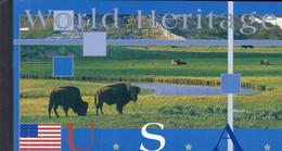 UNO NEW YORK MH 0-8, Postfrisch **, Welterbe: USA, 2003 - Markenheftchen