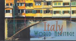 UNO NEW YORK MH 0-7, Postfrisch **, Welterbe: Italien, 2002 - Markenheftchen