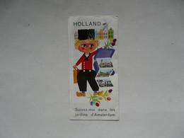 VIEUX PAPIERS - DEPLIANT TOURISTIQUE : HOLLAND - Dépliants Turistici