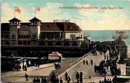 California Long Beach Auditorium And Pleasure Pier - Long Beach