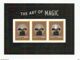 The Art Of Magic ! (by American Magician Mac King). Bloc-feuillet Neuf ** / Miniature Sheet ** 2018 - Blocks & Sheetlets