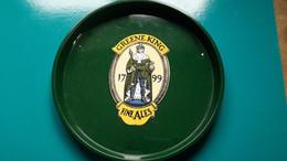Plateau De Service Greene King 1799 Fine Ales De 30,5 De Diamètre En Métal - Otros