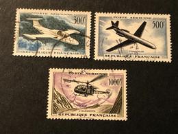 Timbres PA 35 36 Et 37 Oblitérés, Cote 35,20€ - 1927-1959 Afgestempeld