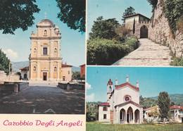CAROBBIO DEGLI ANGELI (BERGAMO) CARTOLINA - CHIESA S. PANCRAZIO - Bergamo