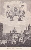 BERGAMO - CARTOLINA - ALTA - LA CATTEDRALE - Bergamo