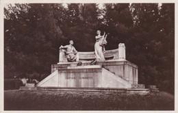 BERGAMO - CARTOLINA - MONUMENTO A GAETANO DONIZETTI - VIAGGIATA PER CREMA - Bergamo