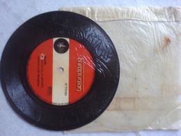 Rare Disque Carton Enduit Genre Vinyle 1 Face Europunion 45 Tours Milord G Moustaki M Mounot Festival Club Orchestra - Non Classificati