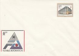 D U 9** MM 89 Fexible Automation - Leipziger Frühjahrsmesse 1989 - Postkarten - Gebraucht