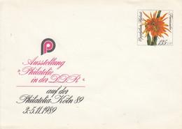 D U 10**  Ausstellung Philatelie In Der DDR Auf Der Philatelia Köln 89 - Postkarten - Gebraucht