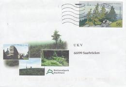 D USo 39 Nationalpark Hochharz, Briezentrum 56 - Postkarten - Gebraucht