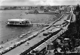 Cartolina Anzio Lungomare Spiaggia Anni '50 Grinza (Roma) - Non Classificati