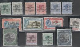 "BAHAMAS 532 ** 1942 - Soprastampati ""LANFALL OF COLUMBUS"" N. 162/175. - 1859-1963 Crown Colony"