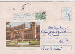 PHILATELIC EXHIBITIONS BALKANPHILA TIRANA  ROMANIA POSTAL STATIONERY - Briefmarkenausstellungen