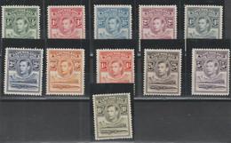 BASUTOLAND 535 ** 1938 - Definitiva Giorgio VI, Fauna N. 18/28. - 1933-1964 Crown Colony